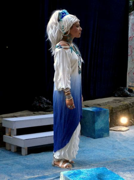 by: CONTRIBUTED PHOTO - Andrea White played Cleopatra.