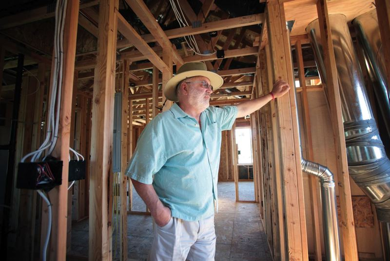 by: TRIBUNE PHOTO: JONATHAN HOUSE - Local home builder Jeff Fish is chairman of a city advisory committee working with neighbors upset about demolitions and infill projects.