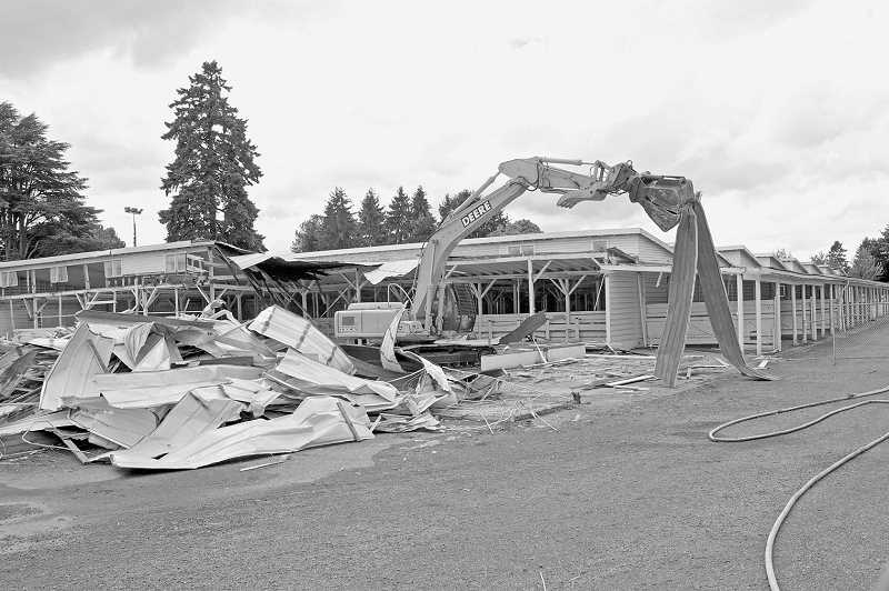 by: PAMPLIN MEDIA GROUP PHOTO: JAIME VALDEZ - Clackamas County Commissioners voted last month to tear down the 90-year-old livestock barn at the fairgrounds. The facility was deemed too costly to repair, but many wish the county had been able to preserve the barn.