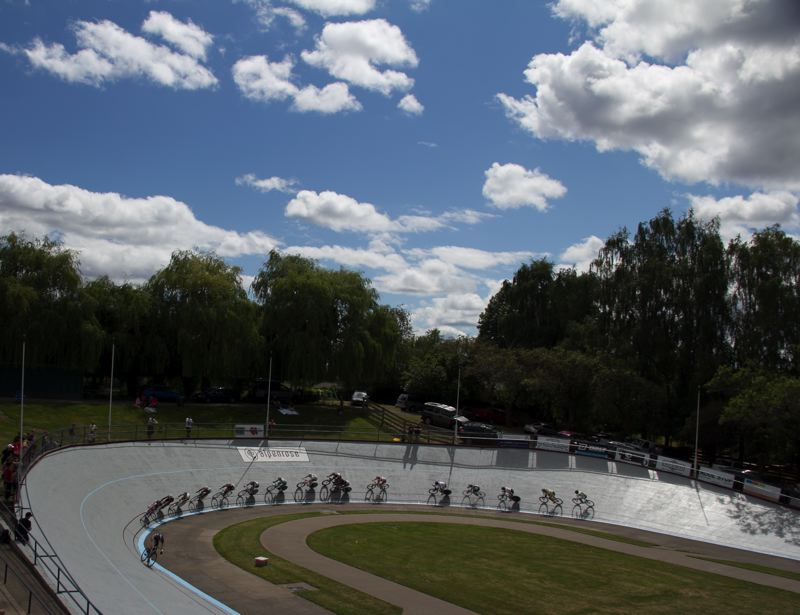 by: SUBMITTED PHOTO - The 16th annual Alpenrose Velodrome Challenge will take place Friday, Saturday and Sunday.