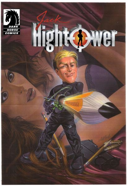 Dark Horse's 'Jack Hightower' is one of the films to be produced by the Gnosis/Vinton deal.