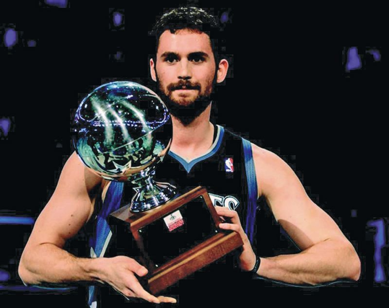 by: COURTESY OF NBA - LeBron James wants the Cavaliers to acquire former Lake Oswego High star Kevin Love before the 2014-15 NBA season.