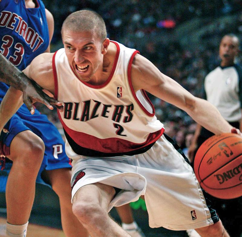 by: TRIBUNE FILE PHOTO: L.E. BASKOW - Veteran guard Steve Blake has returned to the Trail Blazers and, with the addition of Chris Kaman, Portland could be poised to take another step up in the NBA Western Conference next season.