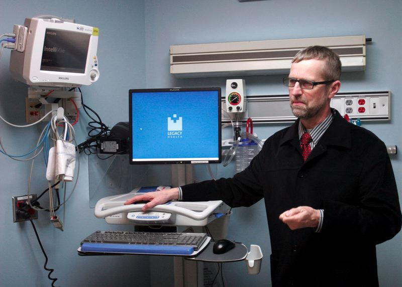 by: OUTLOOK FILE PHOTO - Dr. Harald Schoeppner, director of gastroenterology at Legacy Mount Hood Medical Center, said that on average, 1 in 20 people could develop colon cancer. Routine screenings, he added, can reduce the rate to 1 in 100.