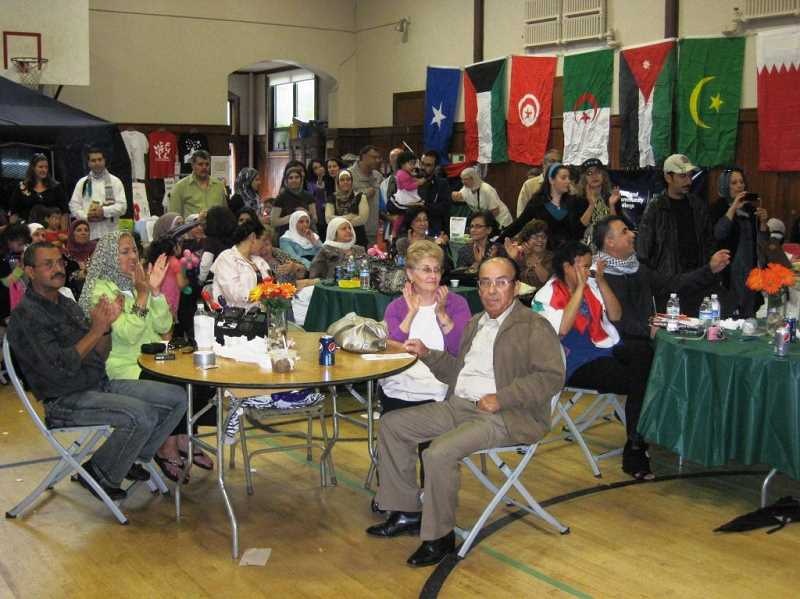 The Arab American Cultural Center of Oregon said that the current Israeli offensive in Gaza has left many in the community grieving and unable to celebrate next week's Mahrajan Arab Festival.
