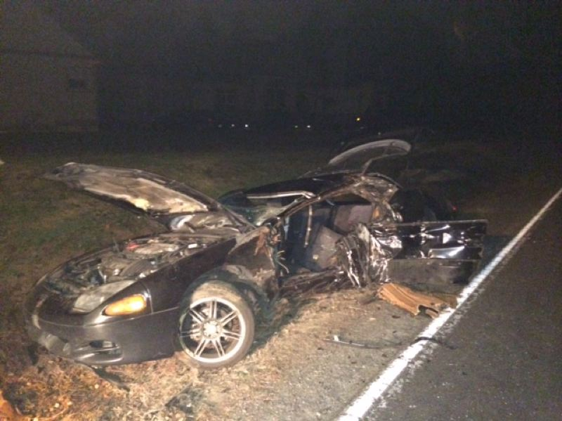 by: CONTRIBUTED: MULTNOMAH COUNTY SHERIFF - A 25-year-old Gresham man died when his car hit a utility pole Saturday night.