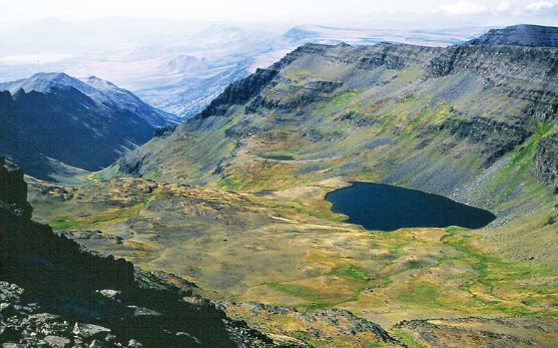 by: SCOTT STAATS SPECIAL TO THE CENTRAL OREGONIAN - Wildhorse Lake, high on Steens Mountain.
