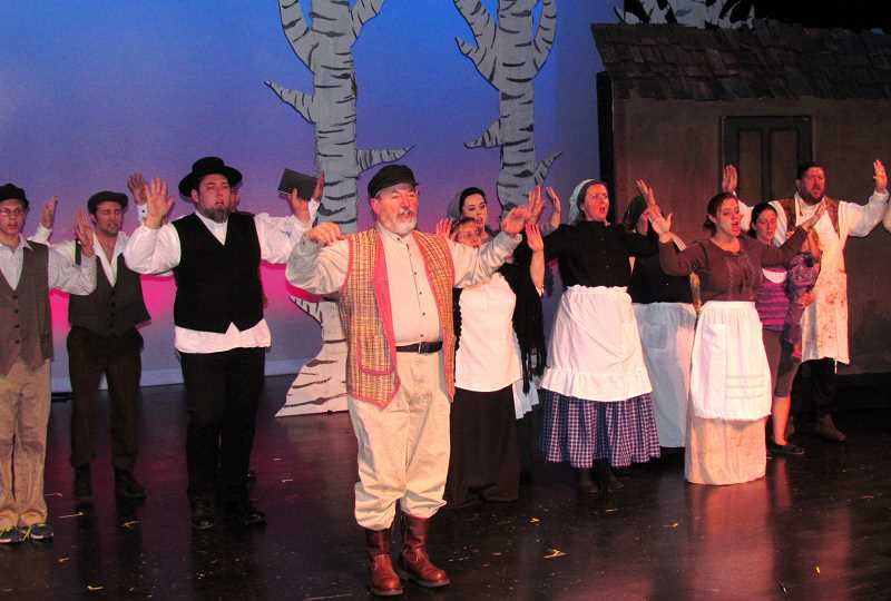The cast of 'Fiddler on the Roof' will be on stage again this week for four more performances.