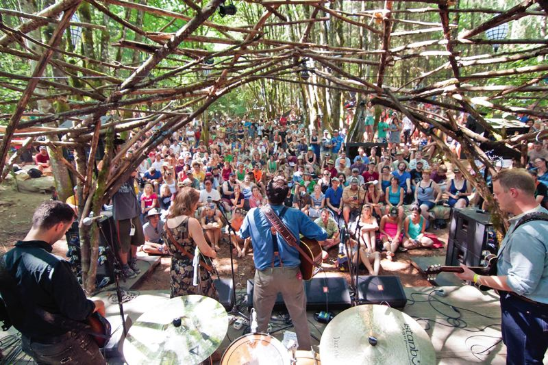 Photo Credit: COURTESY OF CHRISTOPHER SOHLER/PICKATHON - Pickathon returns for another year of music at Pendarvis Farm in Happy Valley, Friday through Sunday, Aug. 1 to 3. For info: pickathon.com. We always like to think of ourselves as a snapshot of what is best in contemporary music, says Zale Schoenborn, event organizer.