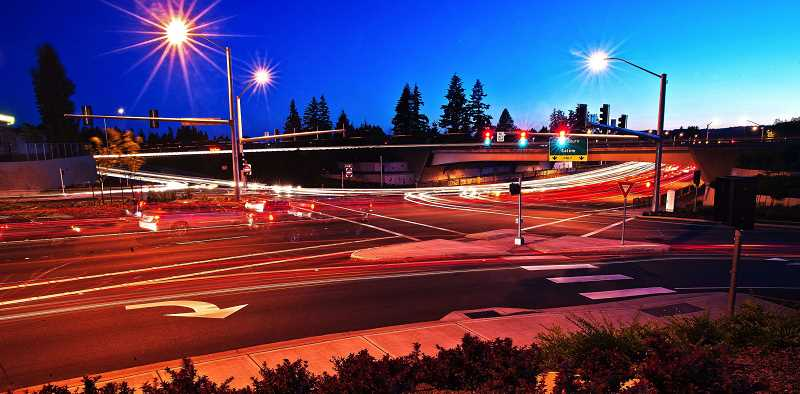 Photo Credit: REVIEW FILE PHOTO: JOSH KULLA - Should we build more roads and highway lanes or should we pay for mass transit projects? Thats the question most people across the state answered in a 2013 Oregon Values & Beliefs Project survey by DHM Research.