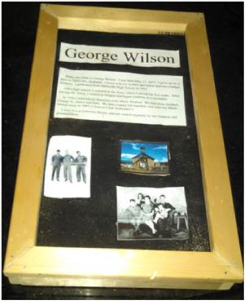 Photo Credit: SUBMITTED PHOTO - A picture of one of Emerson Houses prototype memory boxes.