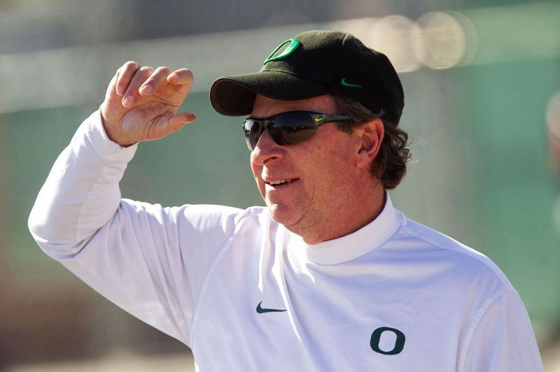Photo Credit: TRIBUNE FILE PHOTO: JAIME VALDEZ - Retirement from football coaching gives former Oregon Ducks defensive coordinator Nick Aliotti more time to hunt birds, hit golf balls and see his family.