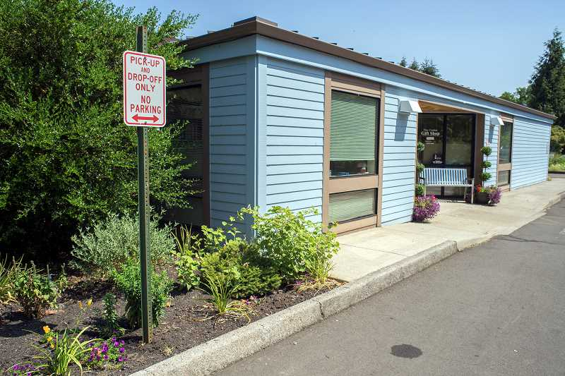 Photo Credit: NEWS-TIMES PHOTO: CHASE ALLGOOD - Former Forest Grove Senior & Community Center director John Schallberger ordered the installation of 'no parking' signage in 2012. The move ruffled some Meals on Wheels drivers' feathers because they'd been parking there for the better part of a decade.