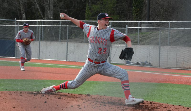 Photo Credit: TIMES FILE PHOTO - Westview senior right-hander Teagan Lind committed to Washington State in July, giving the Wildcats three Pac-12 starters in the same rotation next spring.