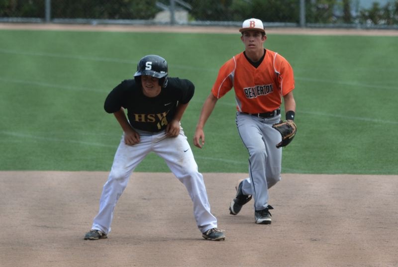 Photo Credit: TIMES FILE PHOTO - Beaverton shortstop Karac Lava and the Beavers beat Westview, 3-2, in the quarterfinals of the OIBA playoffs against Westview.
