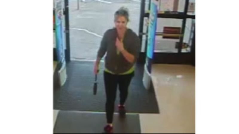 Photo Credit: NEWBERG-DUNDEE POLICE DEPARTMENT - Authorities released this image of Jennifer Huston captured by surveillance cameras at a Rite-Aid police said she stopped at after filling up her vehicle and then disappearing on July 24.