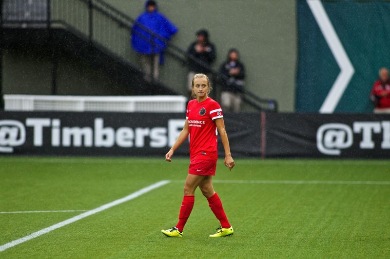 Photo Credit: COURTESY OF CRAIG MITCHELLDYER - Hanna Terry, a 23-year-old rookie who signed with the Portland Thorns two weeks ago, has seen only eight minutes of action but hopes to fit into the National Womens Soccer League teams future plans.