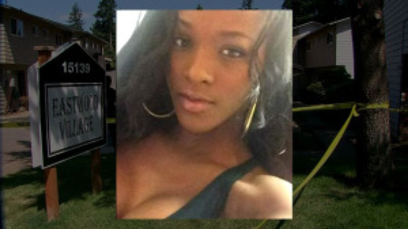 Photo Credit: KOIN 6 NEWS - Ervaeua Herring, 21, was killed in her Eastwood Village apartment in Southeast Portland on Sunday, Aug. 17.