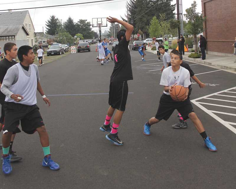 Photo Credit: ARCHIVE PHOTO - The 3-on-3 basketball tournament returns, raising money for the Latino Education and Recreation Network scholarships.