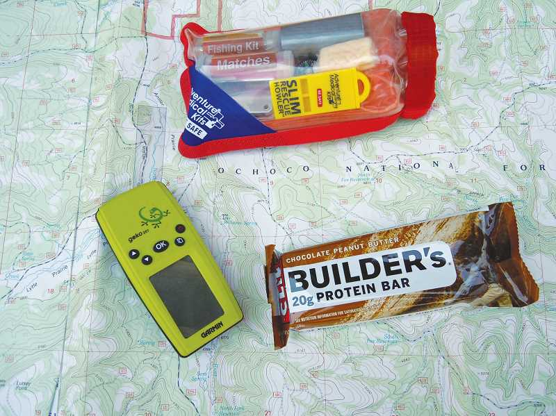 Photo Credit: SCOTT STAATS PHOTO - A good, prepacked kit can come in handy during a camping trip. The options on things to have at the ready are endless.