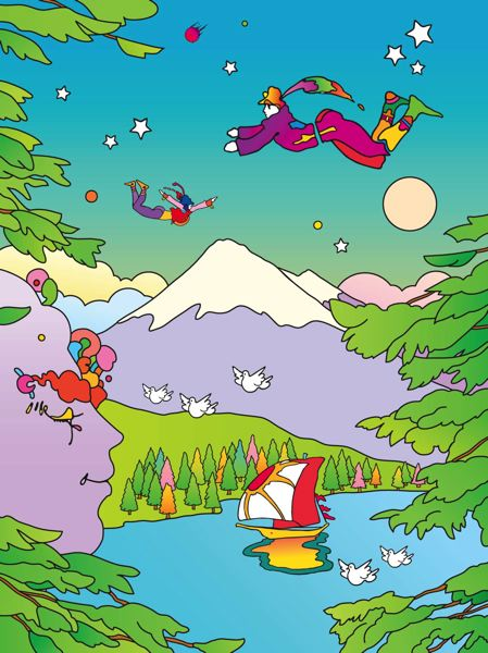 Peter Max's art is the centerpiece of an Aug. 23-24  event in Portland.