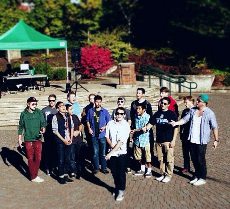 Photo Credit: CONTRIBUTED PHOTO - The UO a capella group will finish out the Sandy Summer Sounds series on Wednesday, Aug. 27.