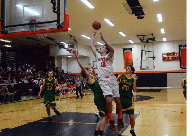 Photo Credit: TIMES FILE PHOTO - Ty Peacock didnt get the constant recruiting attention during his senior season at Beaverton, so he signed on with I5 Elite, which helped boost his collegiate stock.