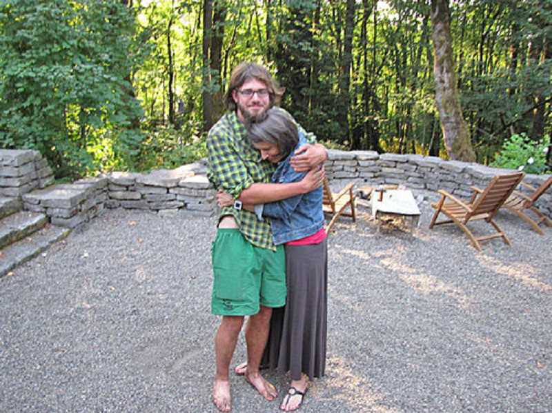 Photo Credit: SUBMITTED PHOTO - Michelle Lantow is glad to see her oldest son, Paul, home safely after months on the Pacific Crest Trail.