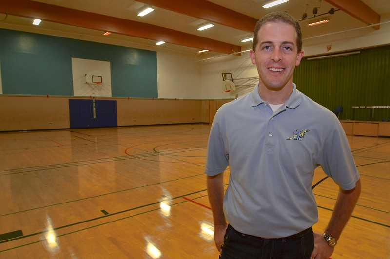 Photo Credit: REVIEW FILE PHOTO: VERN UYETAKE - Lakeridge Junior High Principal Kurt Schultz apologized for painting over the Bryant Elementary School mural and held a contest for its replacement.