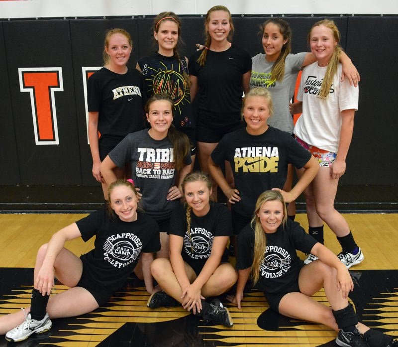 2014 Scappoose High School Volleyball