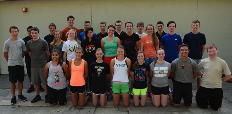 2014 Scappoose High School Cross Country