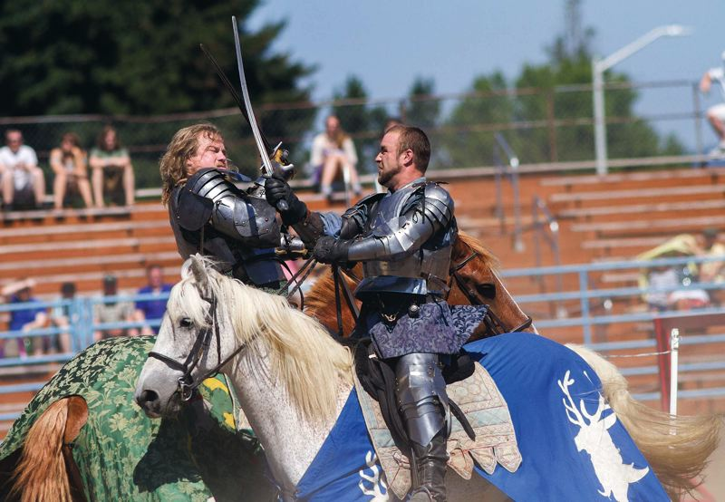 Photo Credit: PAMPLIN MEDIA GROUP: CHASE ALLGOOD - Horses play a big role in Renfest.