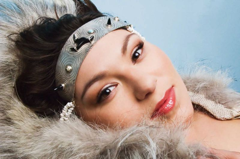 Photo Credit: TBA PHOTO COURTESY OF: SARAH RACE - Tanya Tagaq's concert with 'Nanook of the North.'