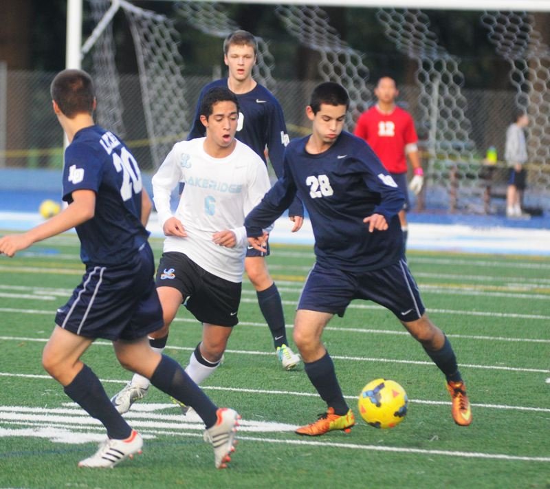 Photo Credit: MATTHEW SHERMAN - Shaheen Safari will be one of the anchors on the back line for the Lake Oswego boys soccer team this season.
