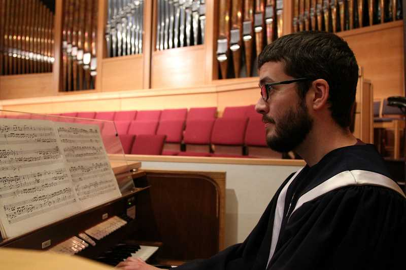 Photo Credit: SUBMITTED PHOTO - Lake Grove Presbyterians organist Jeff Wood will present a concert at the church at 2 p.m. Oct. 5.