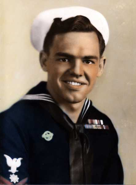 Bachmann was just 18 years old when he entered the U.S. Navy to help fight WWII and left his family in Kansas where his father owned a tavern.