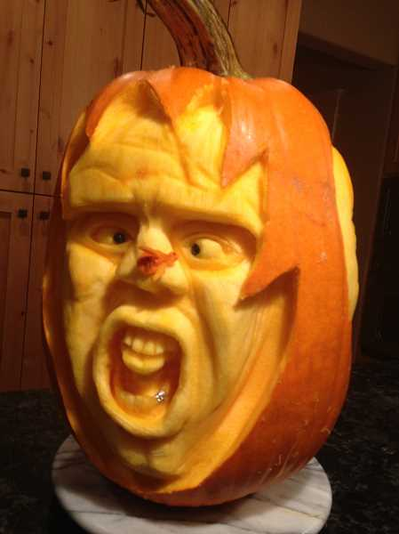 Photo Credit: SUBMITTED PHOTOS - Gordon McDonald of Tigard created this jack-o-lantern.