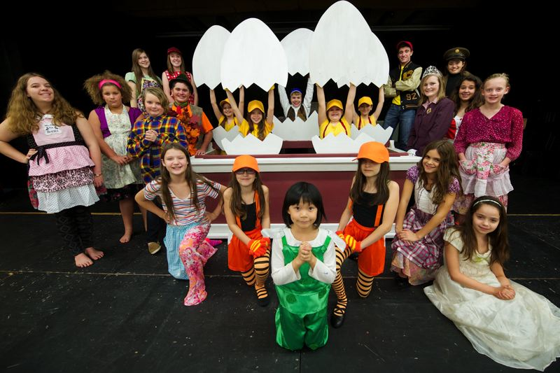 Photo Credit: OUTLOOK PHOTO: TROY WAYRYNEN - Corbett Performing Arts Club is opening its season with 'HONK!' next Friday, Nov. 14.