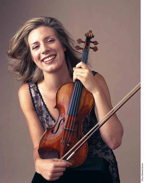 Photo Credit: COURTESY OF CHRISTIAN STEINER - Her grandfather bought Elizabeth Pitcairn the Red Mendelssohn violin just before her 17th birthday.