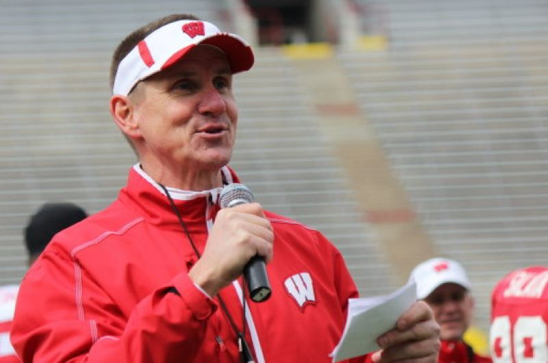 Photo Credit: COURTESY OF UNIVERSITY OF WISCONSIN - Gary Andersen, coach at Wisconsin since December 2012, will be the new head football coach at Oregon State, replacing Mike Riley.