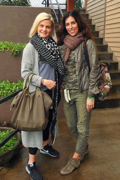 Juhala, left, and Radich enjoy wearing European clothing and accessories which tell a story.