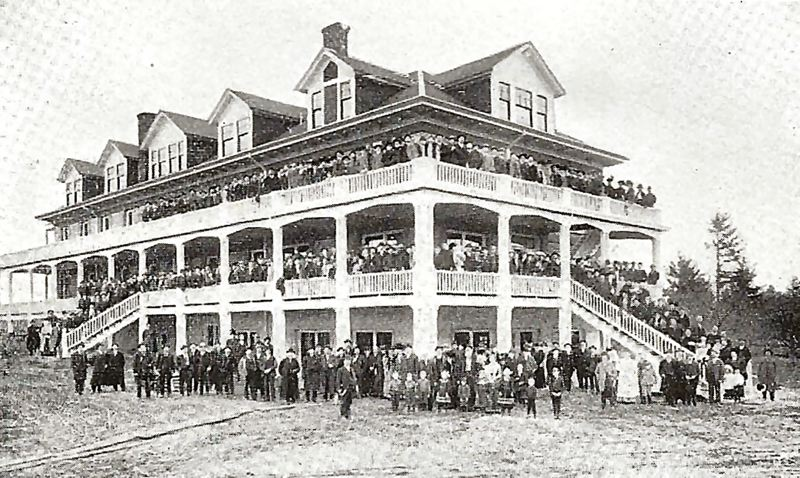 Photo Credit: COURTESY OF ODD FELLOWS LODGE, PORTLAND - The opening day celebration of one of Oregons oldest elder-care homes, the Odd Fellows Home, at 32nd Avenue and S.E. Holgate. Hundreds gathered for this celebration on April 26th, 1902.