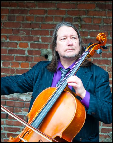 Photo Credit: CONTRIBUTED PHOTO - Cellist Skip vonKuske marks 10 years playing Mondays at the Winery in McMenamins Edgefield in Troutdale this month.