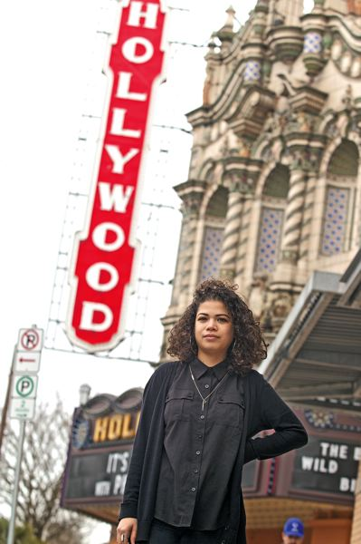 Photo Credit: TRIBUNE PHOTO: JAIME VALDEZ - New York transplant and film buff Ariella Tai made women filmmakers the focus of this year Portland Black Film Festival. Six films will take on issues of race, gender, identity, politics, music and more.
