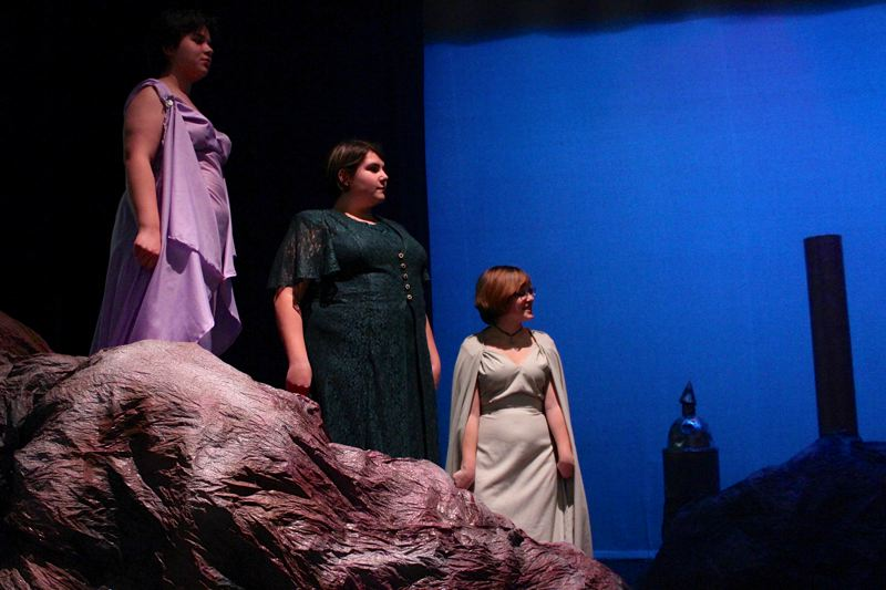 Photo Credit: COURTESY OF ST. HELENS HIGH SCHOOL - A publicity photo from St. Helens High School's upcoming production of 'The Tempest,' one of the major works of William Shakespeare.