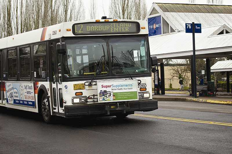 Photo Credit: TIMES FILE PHOTO - Several TriMet bus lines will see schedule changes starting in March.