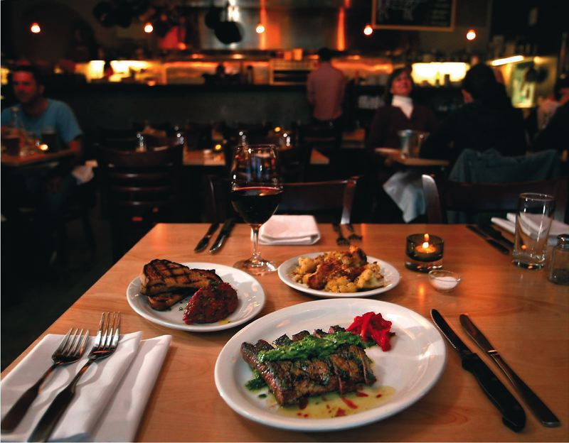 Photo Credit: TRIBUNE FILE PHOTO: JAIME VALDEZ - Travel Portland is hoping patrons are drawn to the likes of Laurelhurst Market for Portland Dining Month.