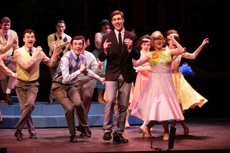 Photo Credit: TIMES PHOTO: JONATHAN HOUSE - Craig Umhoefer plays Corny Collins in the upcoming PCC musical, 'Hairspray.'