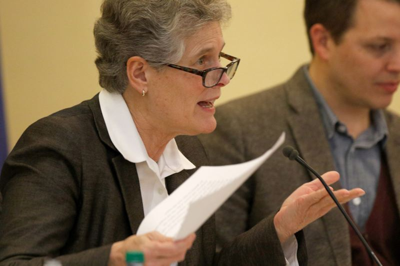 TRIBUNE FILE PHOTO: JONATHAN HOUSE - Superintendent Carole Smith presented her staffing requests at the March 9 meeting of the board of directors for Portland Public Schools.