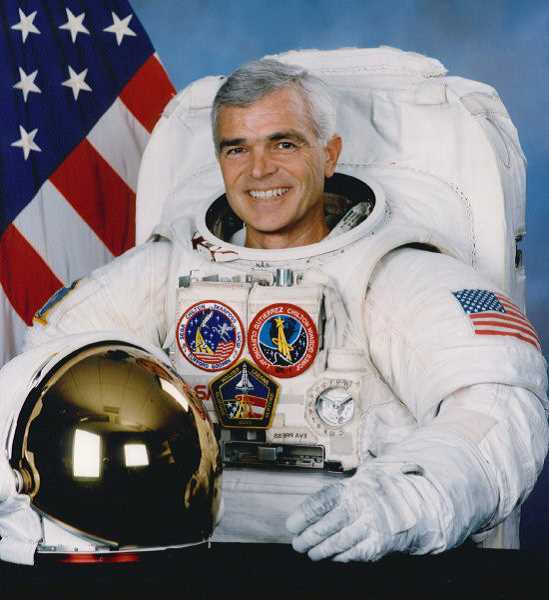 SUBMITTED PHOTO - Retired NASA astronaut Rich Clifford will be the guest speaker at Parkinsons Resources of Oregons gala event May 8. He kept his Parkinsons secret for 17 years.
